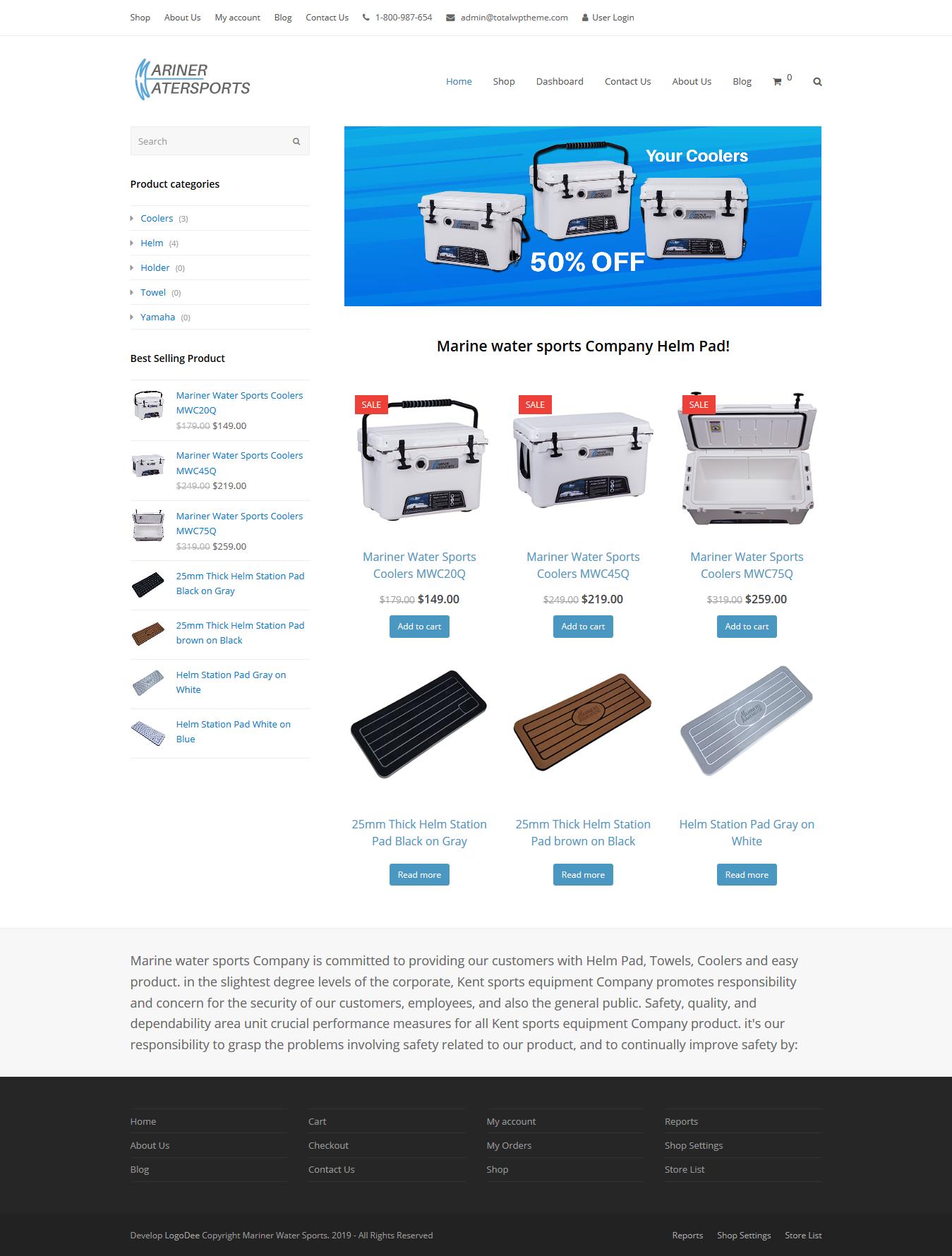 I will design develop WordPress website