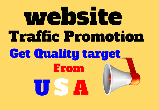 USA country targeted 1k website traffic
