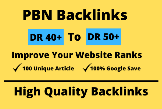 50 Homepage SEO PBN Dofollow Backlinks to Boost Website Ranks