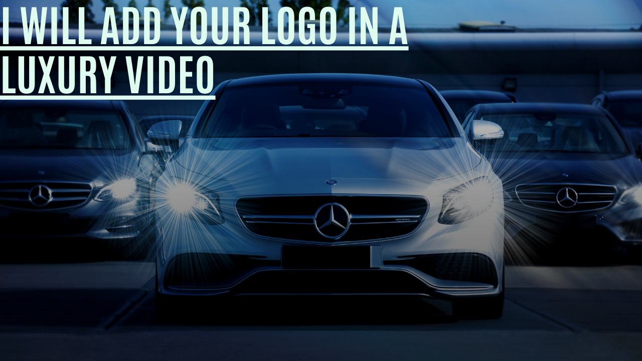 Add Your Logo On a Luxury Lifestyle Compilation Video
