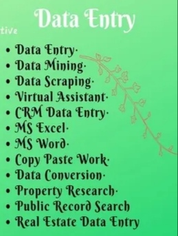 I will Do Data Entry Copy paste job