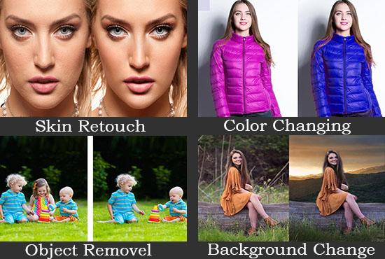I will do Photoshop editing and image retouching professionally
