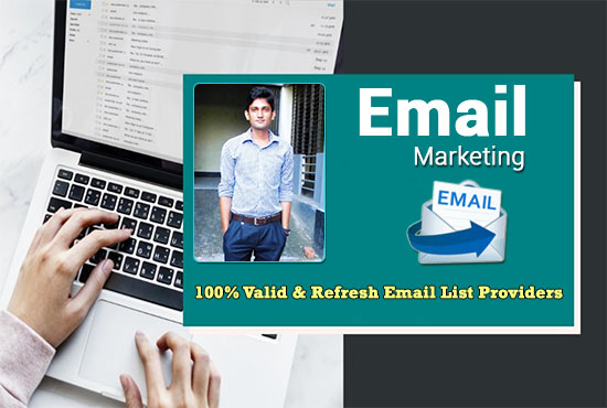 I will Generate 3K niche targeted email list clean and verified