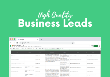 UNLIMITED High Quality Business Leads