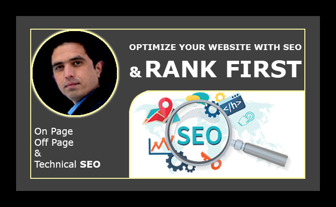 I will optimize your company website with SEO