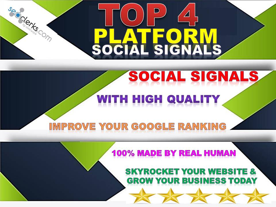 GET 12,000 MIXED TOP 4 PINTEREST,WEB,TUMBLR, REDDIT SOCIAL SIGNALS FROM BACKLINKS TO WEBSITE IMPROVI