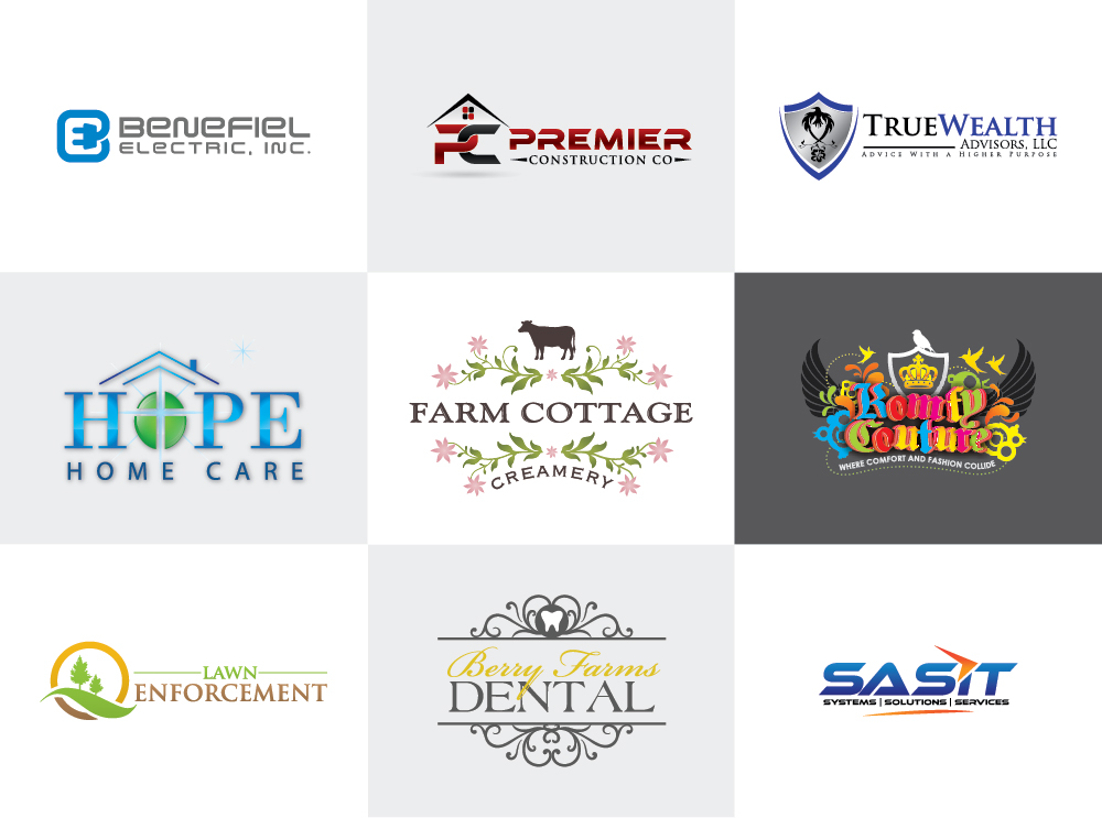 I will design a creative logo for your website or business