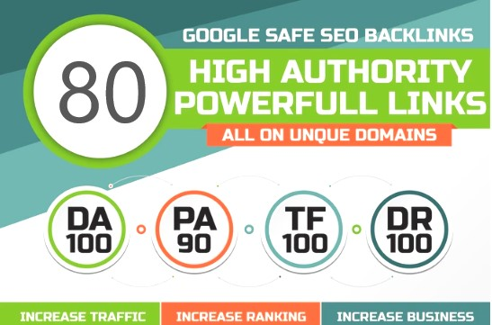 I will do 80 .Edu DA100 links building high authority dofollow SEO backlinks service