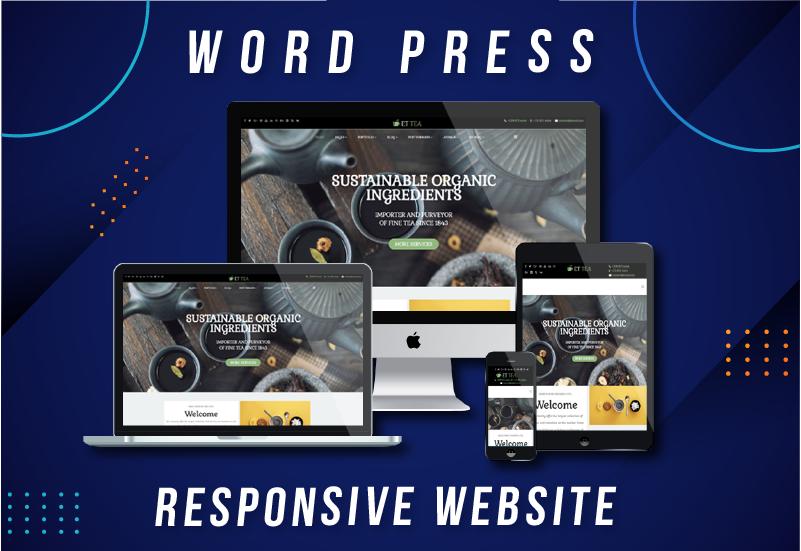 Design professional WordPress website for you