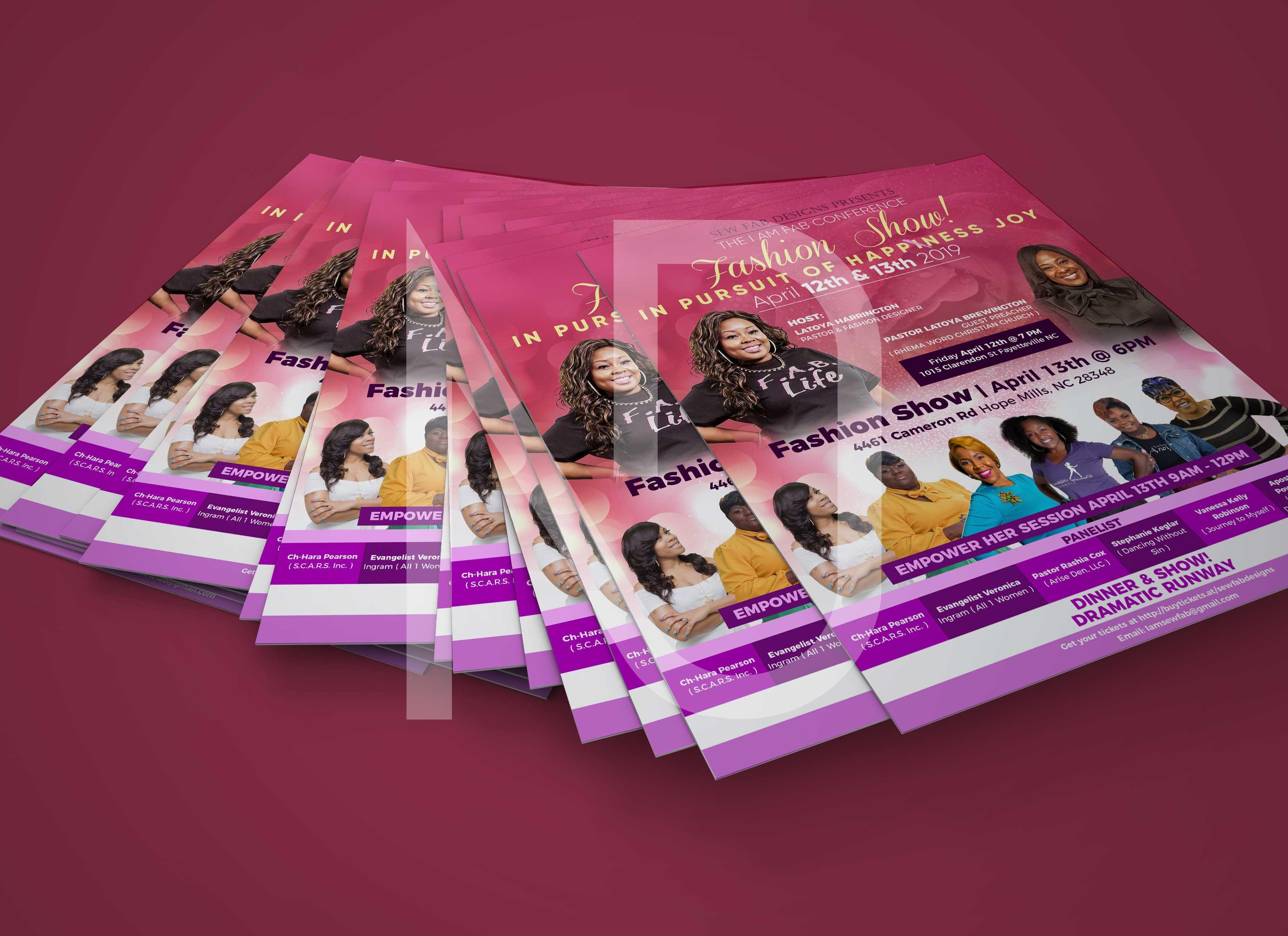 Amazing Flyer/Brochure/Leaflet/Poster/Menu Design