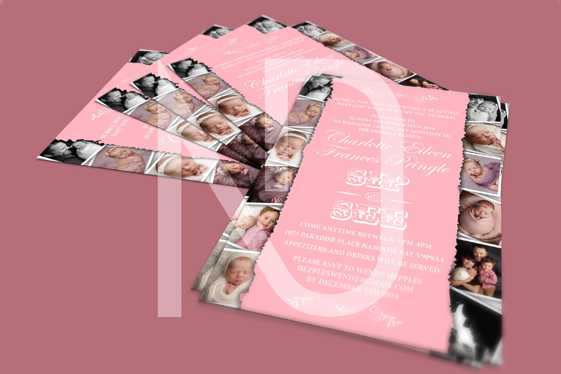 Amazing Invitation/Flyer Design for Wedding/Event/Party/Holidays/Seasons