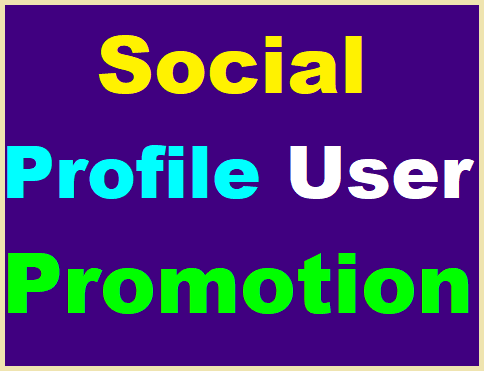 Social Media Profile Promotion High Quality Instantly
