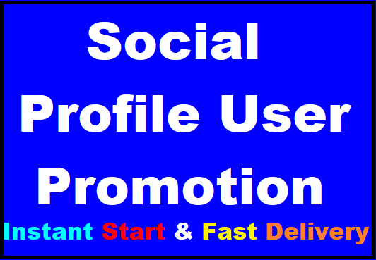 Fast Social Profile Followers High Quality Promotion Instant Start