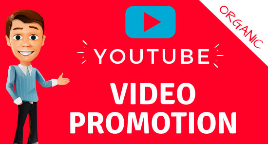 Real Organic YouTube 1-k Video Promotions For
