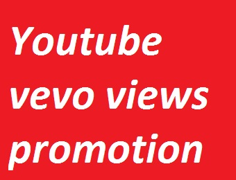 Youtube Vevo video promotion non-drop guarantee