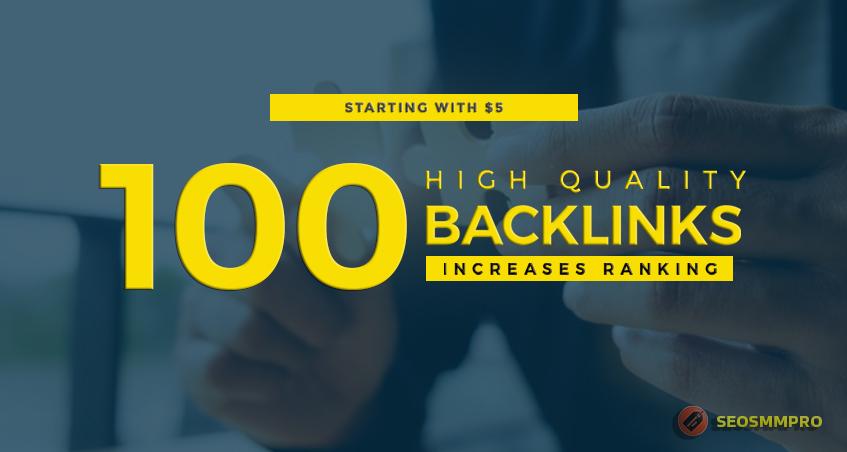 Build 100 High Quality Google Friendly SEO Backlinks