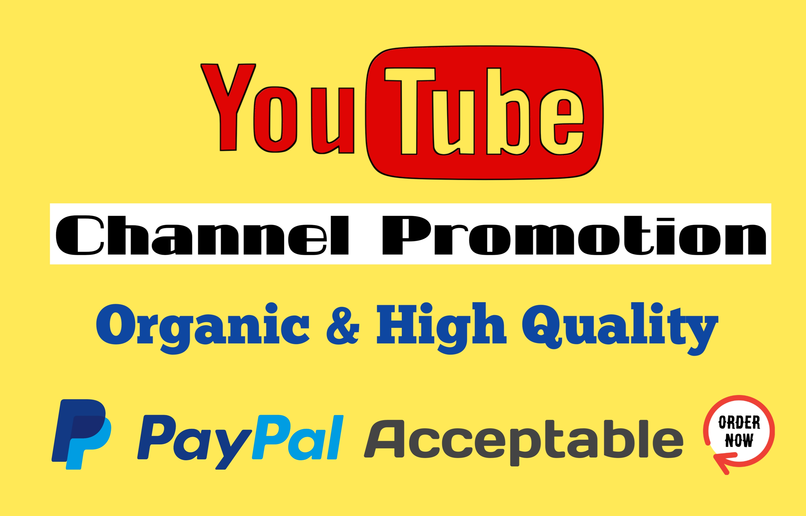 I Will Add Lasting YouTube Promotion Video Via