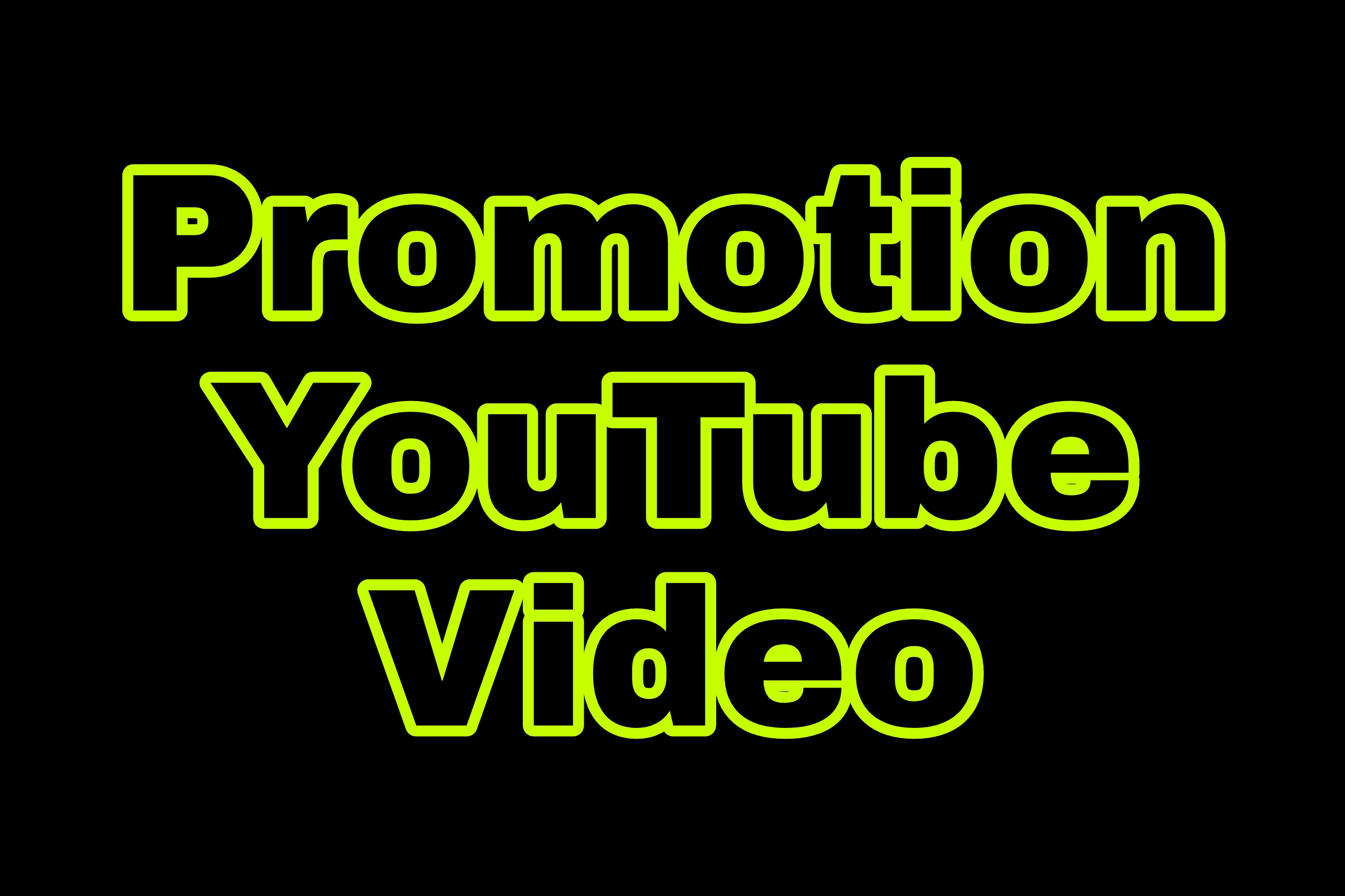 Original Promotion YouTube videos and Marketing promotion