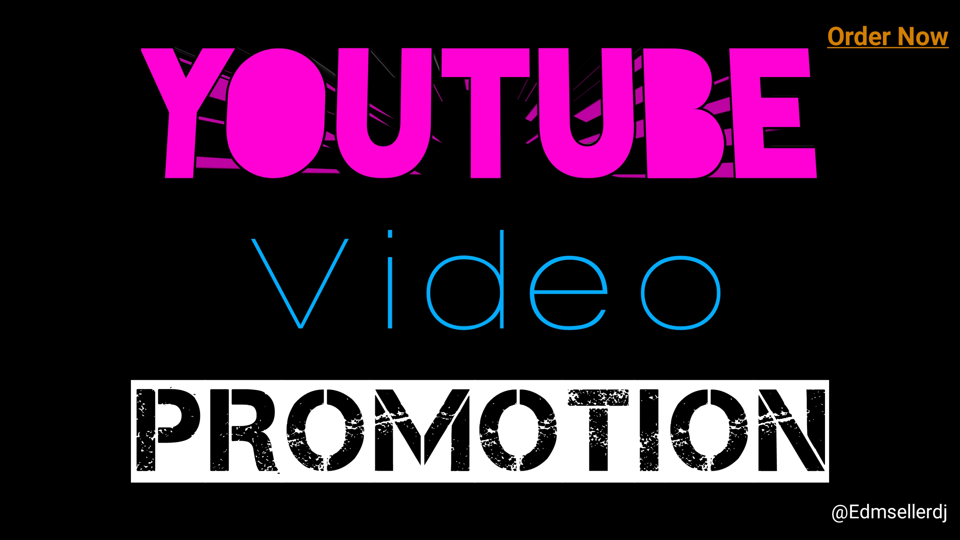 I will give you youtube promotion video and marketing Vai