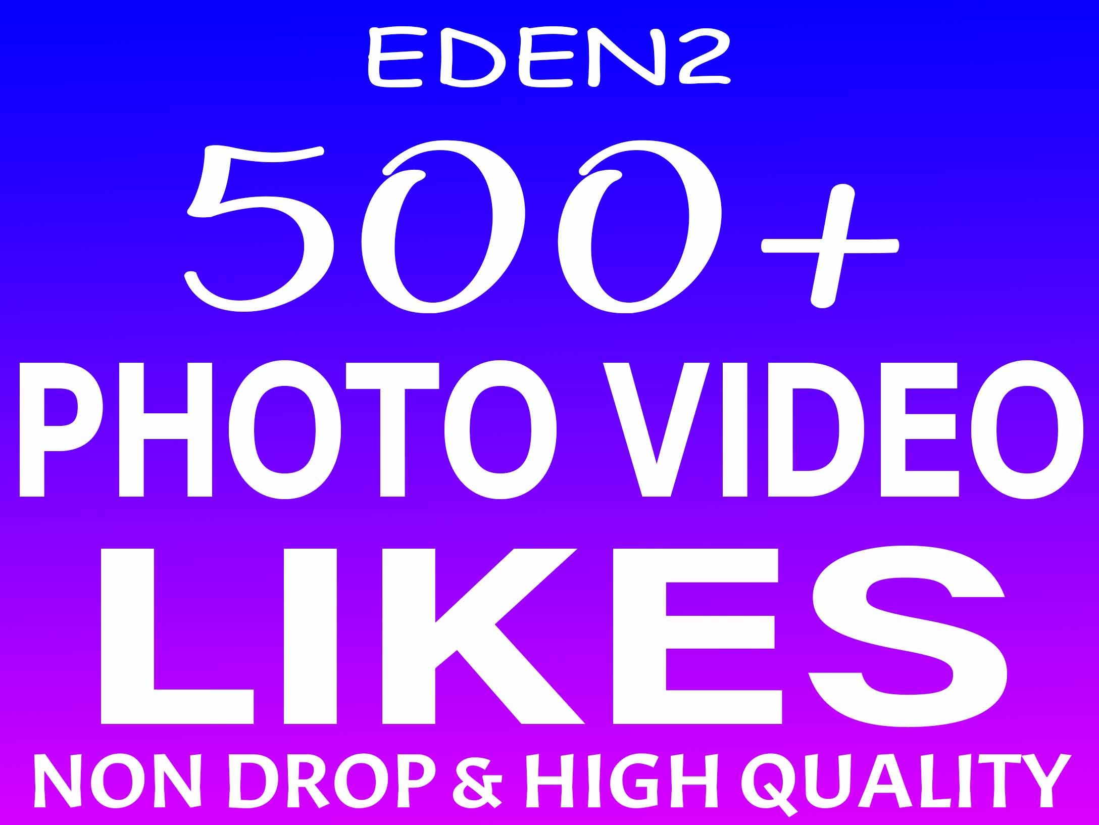 ADD 500+ SOCIAL PHOTO OR VIDEO PROMOTION NON DROP AND HIGH QUALITY WITH SUPER FAST GUARANTEED