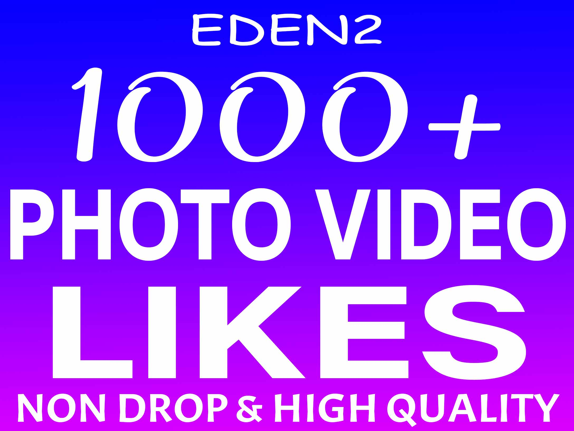 ADD 1000+ SOCIAL PHOTO OR VIDEO PROMOTION NON DROP AND HIGH QUALITY WITH INSTANT START