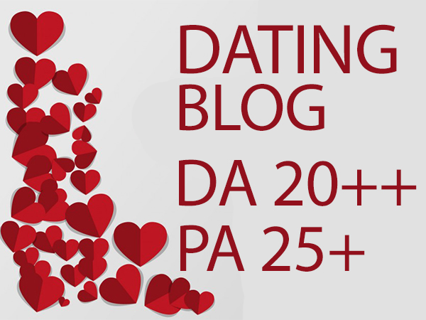 I will submit a guest post on quality dating and relationship blog