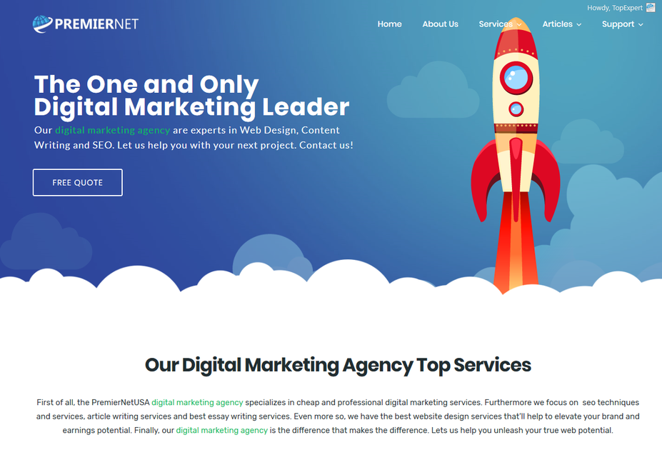 SEO Website Content Writing Services