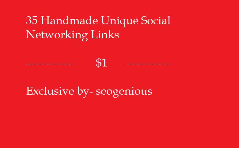 35 Handmade Unique Social Networking Links
