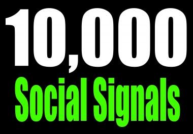 Super Fast Google Rank 10,000 HQ SEO Social Signals