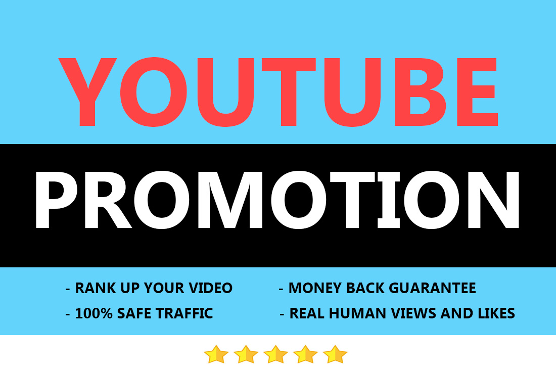 High quality youtube video marketing super fast and safe