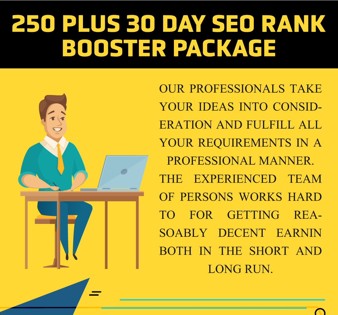 250 plus Top Backlinks 30 Day SEO RANK BOOSTER PACKAGE
