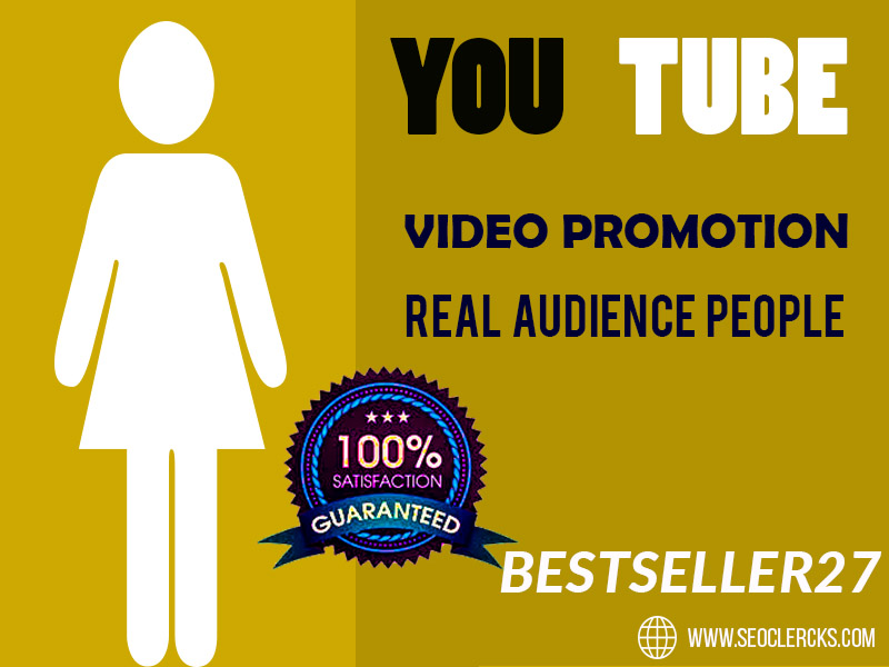 YouTube video promotion Social Media Marketing Best Service