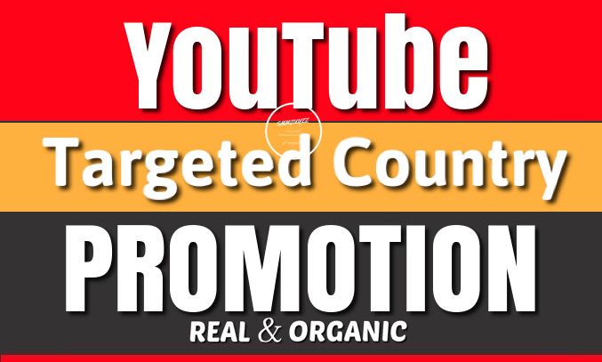 YouTube Video HQ Targeted Country USA,  UK,  Brazil,  Australia,  ETC Organic Audience Promotion