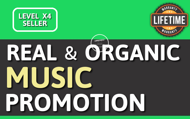 Real Music Promotion Album,  Playlist OR Artist PROFILE Unique Listeners With Lifetime Guarantee