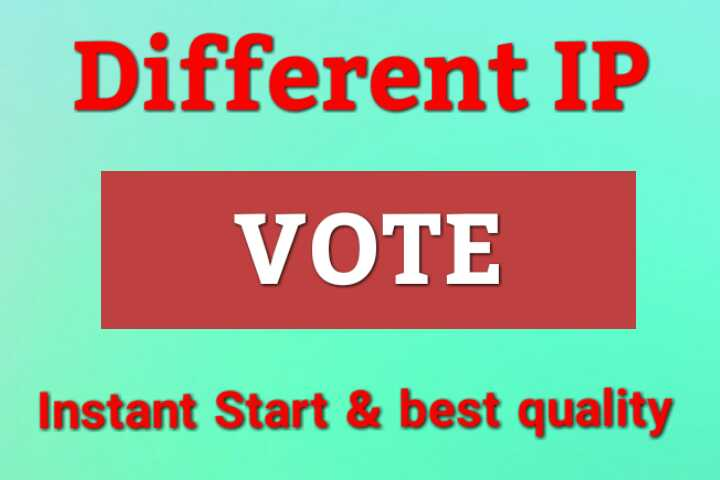 Get Top Quality Votes Provider For Your Contest