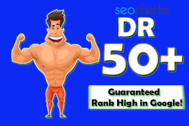 Increase Domain Rating DR Ahrefs to 50 plus
