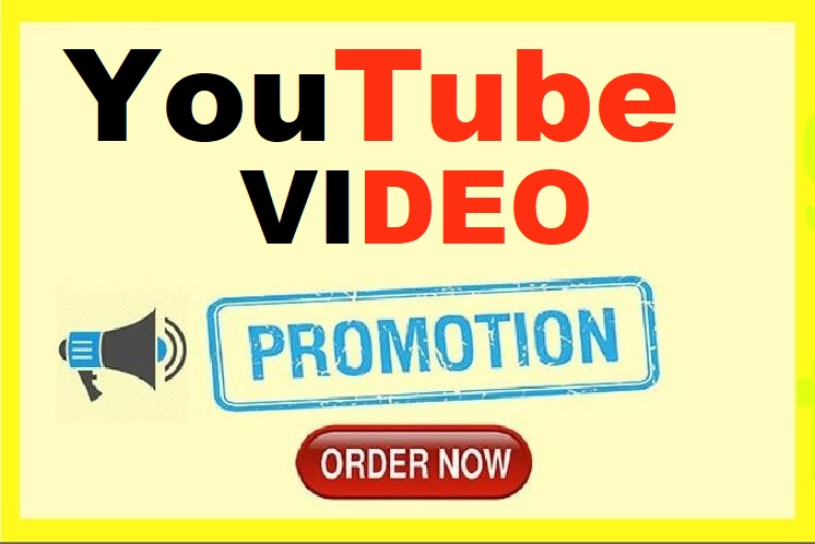 YouTube Video Promotion Real Active Worldwide Audience
