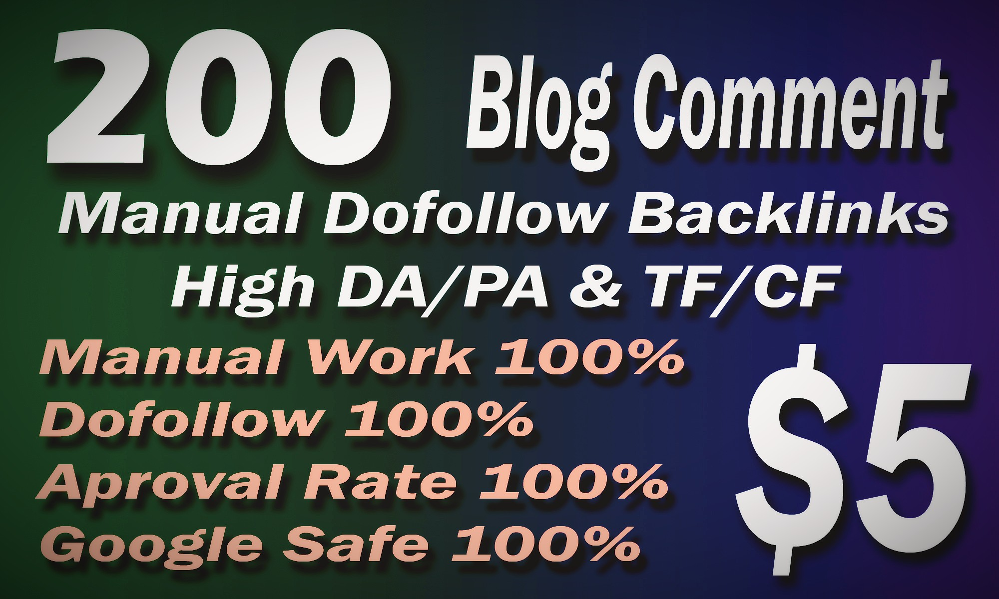 Manual Dofollow 200 Blog comment Low OBL Backlinks on High DA sites
