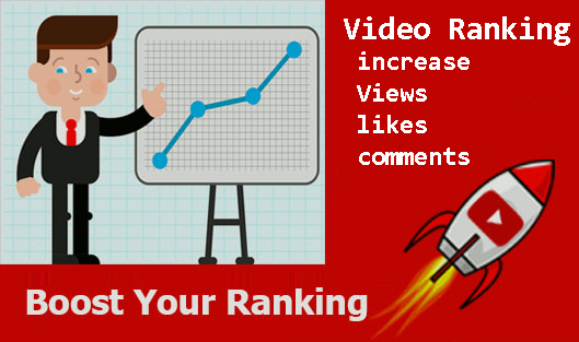 Video Ranking to increase Views,  likes,  comments