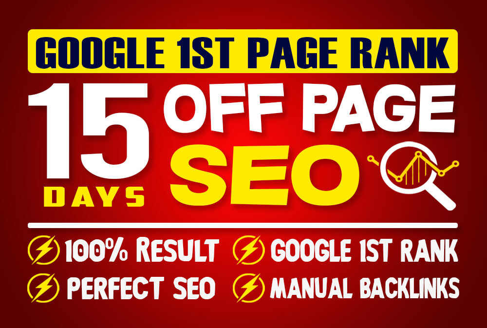 I will do 15 days offpage seo with backlinks