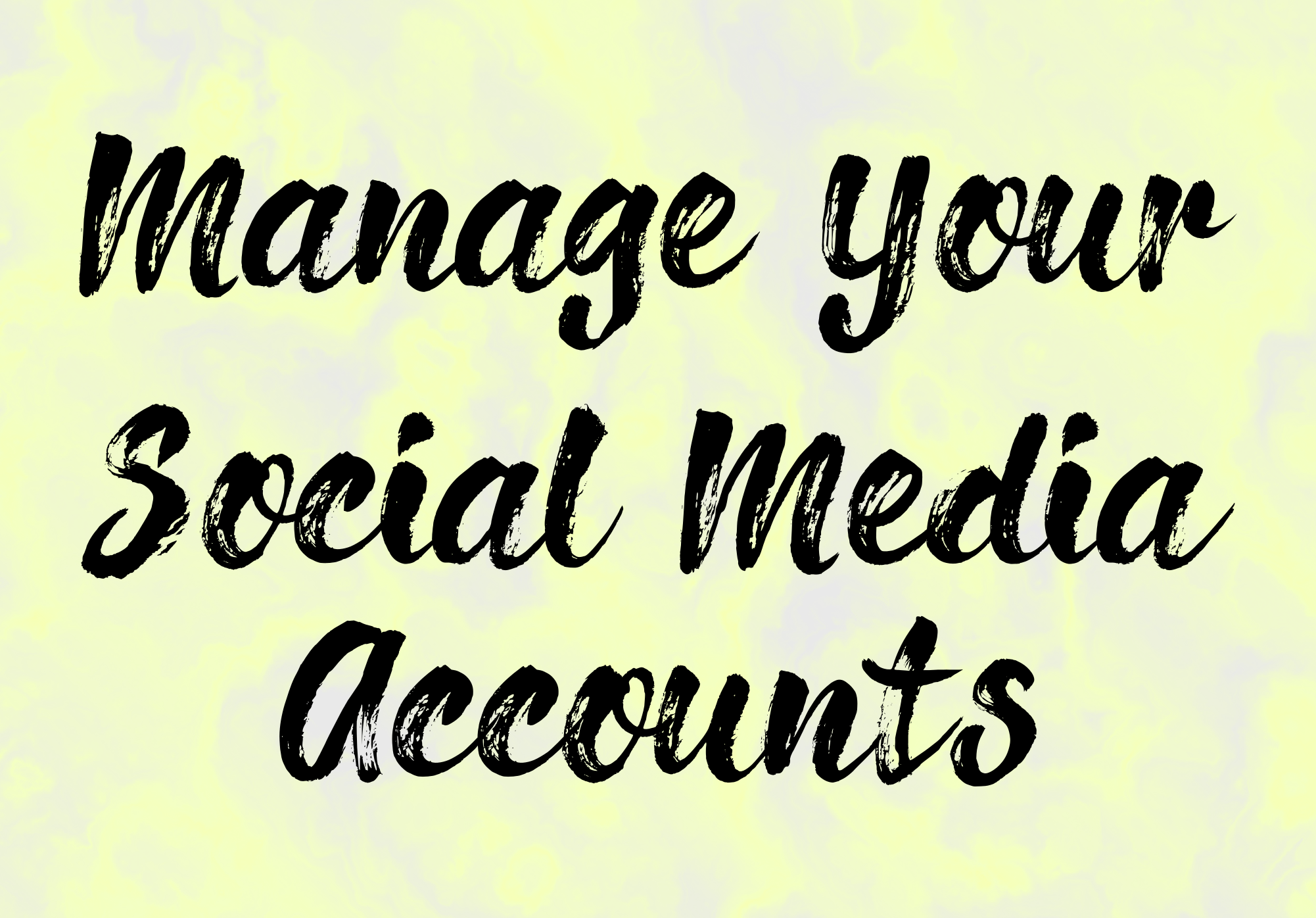 Be Your Pofessional Social Media Manager For Your Business