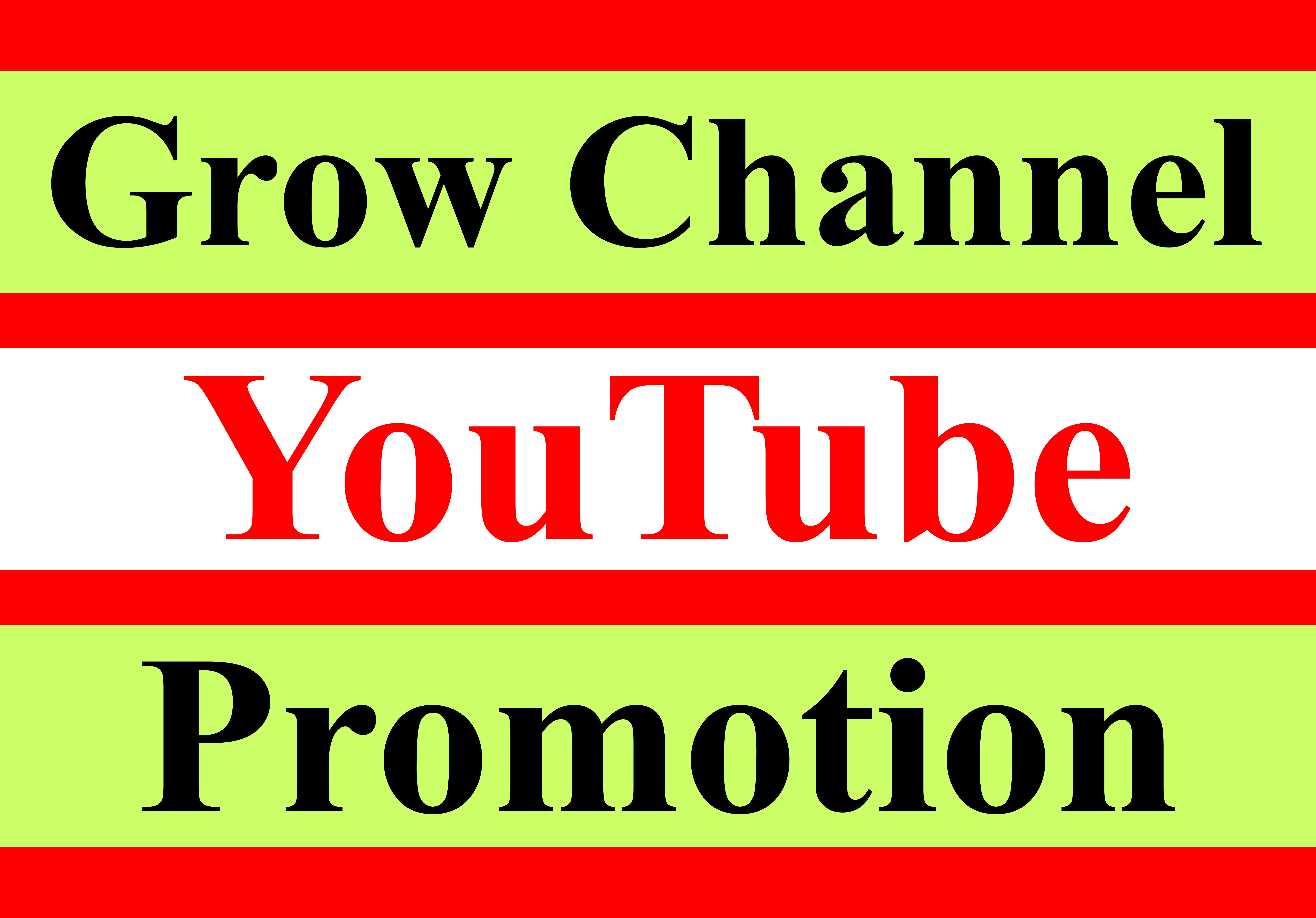 Add permanent non drop channel promotion guaranteed organic manual
