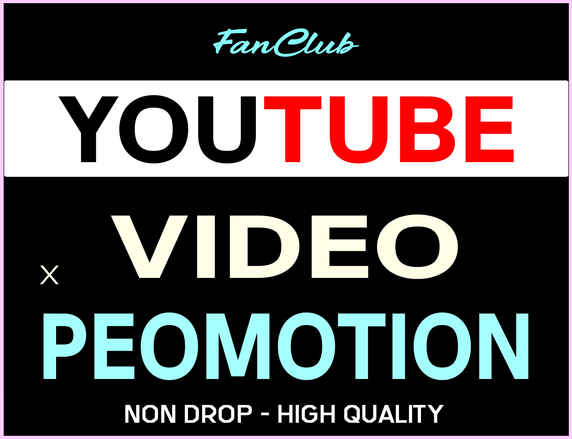 YOUTUBE VIDEO PROMOTION REAL ORGANIC AND SUPER FAST WITH LIFE TIME GUARANTEED