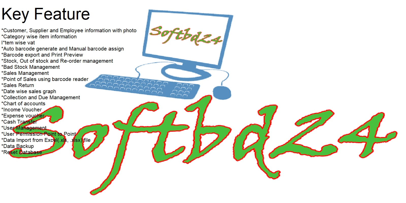 Softbd24 POS Software With Source Code C