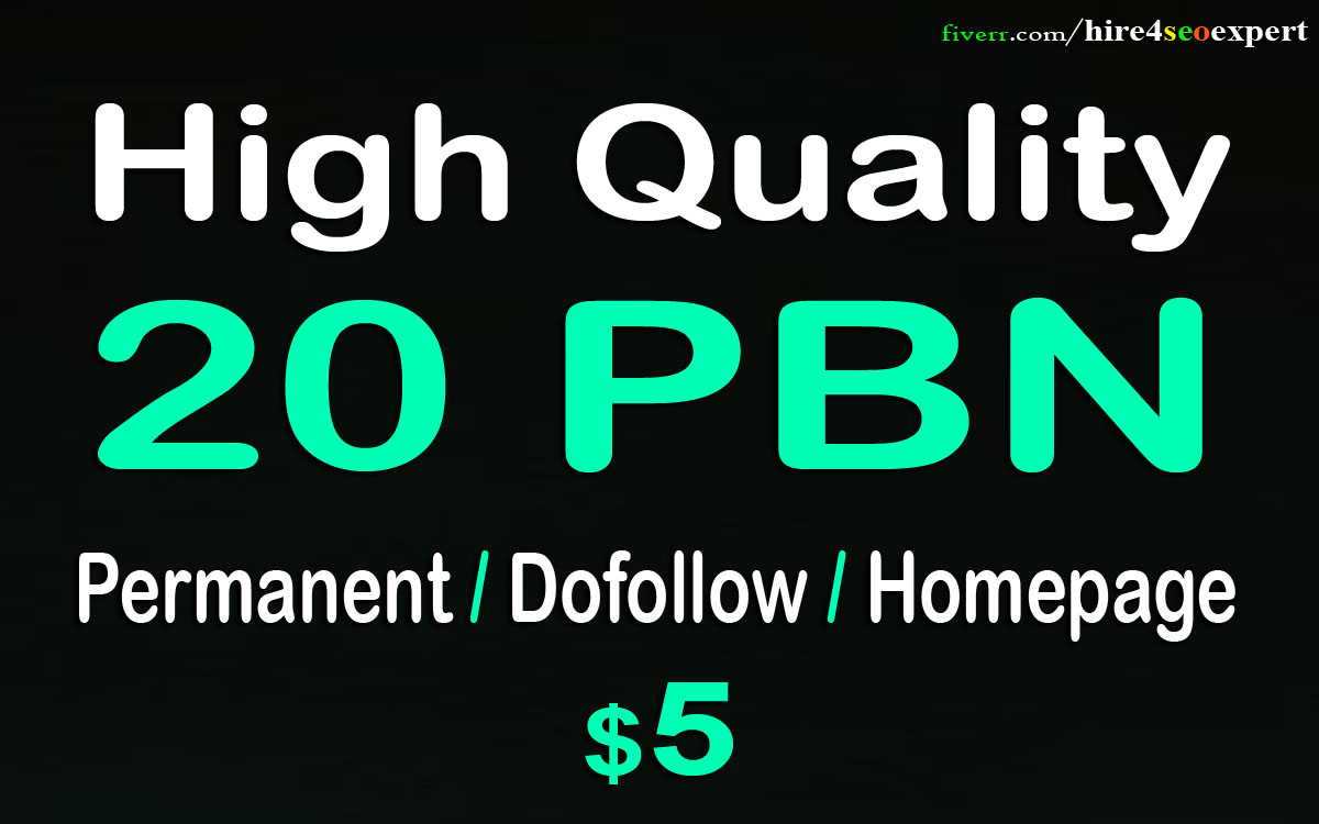 Create 20 Permanent Pbn Posts, Powerful Pbn Links