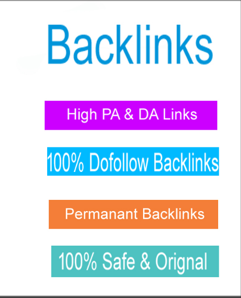 40 PA DA 20+Backlinks and 20. Edu/. Gov Backlinks
