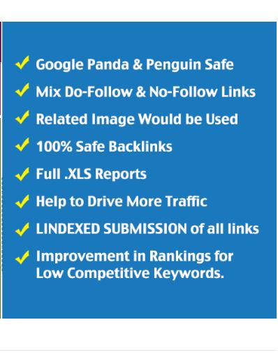 125+ DOFOLLOW High DA 30+ Highly Authorized Google Dominating BACKLINKS