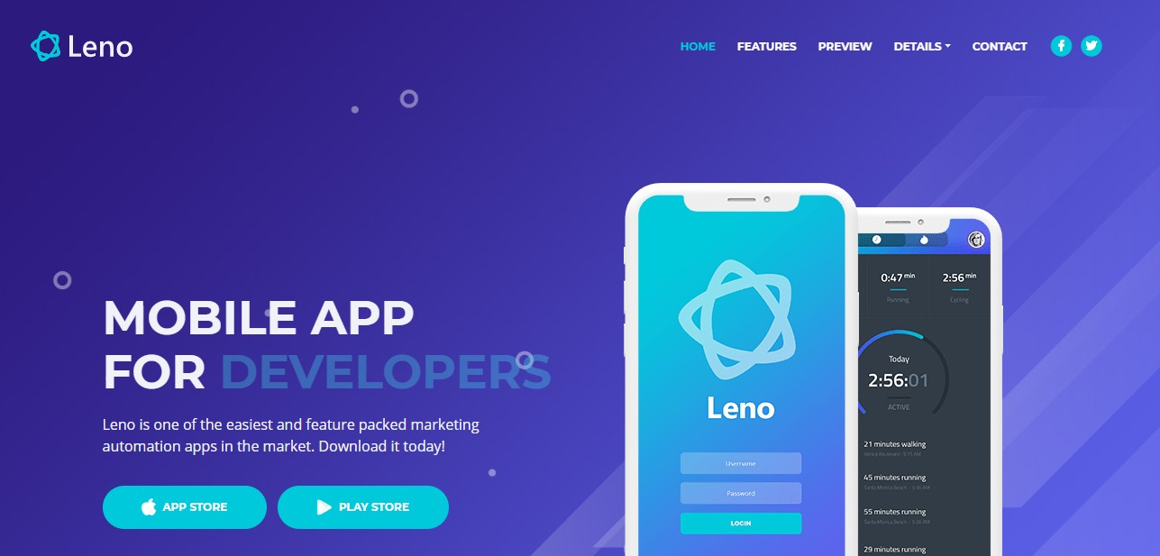 Create a WONDERFUL Landing page for APP or Anything Else