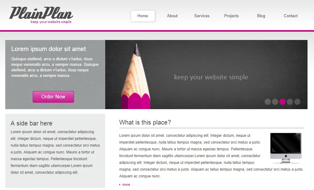 300+ Ready to Edit and Publish HTML+CSS Website Templates