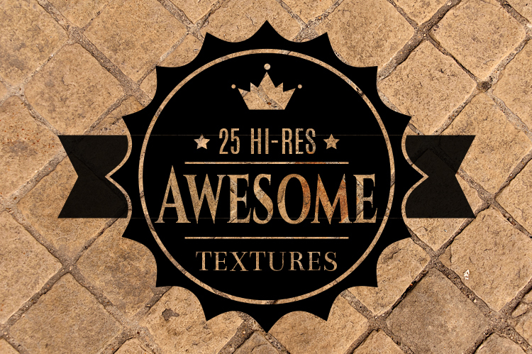 Get 25 Awesome High-Res Textures